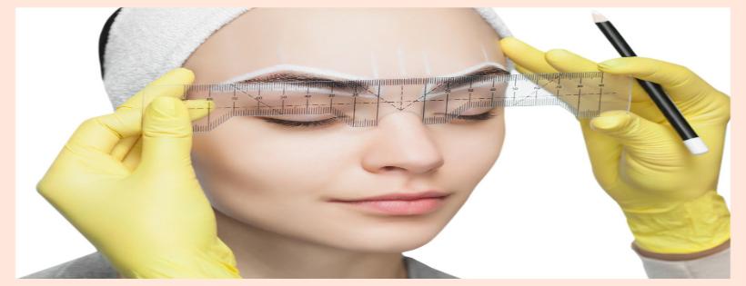 Studio delle sopracciglia o brow design